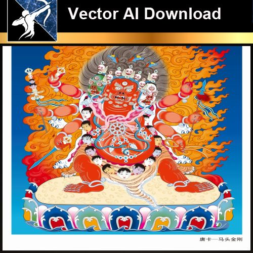 ★Vector Download AI-Thangka Paintings and Mandala: The Sacred Art of Nepal V.7