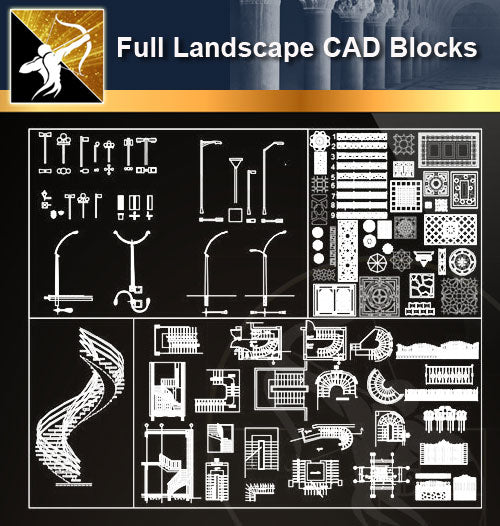 ★Full Landscape Blocks