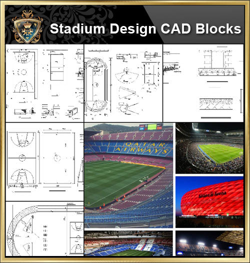 ★【Stadium CAD Blocks-Stadium,Gymnasium, track and field, playground, Sports hall V.2】@basketball court, tennis court, badminton court, long jump, high jump ,CAD Blocks,Autocad Blocks,Drawings,CAD Details - Architecture Autocad Blocks,CAD Details,CAD Drawings,3D Models,PSD,Vector,Sketchup Download