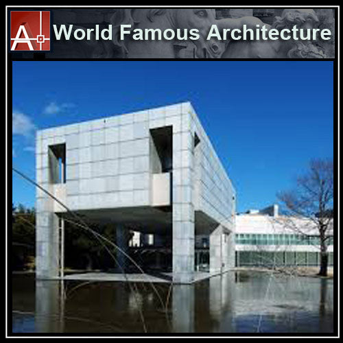 【Famous Architecture Project】Museum of Modern Art-Arata Isozaki-Architectural CAD Drawings