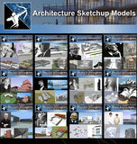 ★Total 107 Pritzker Architecture Sketchup 3D Models★ (Best Recommanded!!) - Architecture Autocad Blocks,CAD Details,CAD Drawings,3D Models,PSD,Vector,Sketchup Download