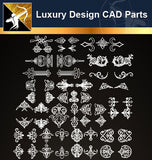 Luxury Design CAD Blocks 5 - Architecture Autocad Blocks,CAD Details,CAD Drawings,3D Models,PSD,Vector,Sketchup Download
