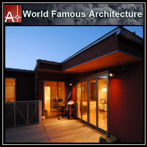 【Famous Architecture Project】Casa matsumoto planos - Tadao Ando-Architectural CAD Drawings - Architecture Autocad Blocks,CAD Details,CAD Drawings,3D Models,PSD,Vector,Sketchup Download