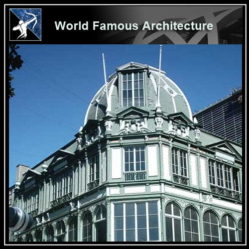 【Famous Architecture Project】Edwards commercial building - Plaza de armas - Chile 3D CAD-Architectural 3D CAD model - Architecture Autocad Blocks,CAD Details,CAD Drawings,3D Models,PSD,Vector,Sketchup Download