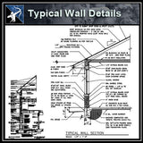 【Architecture Details】Typical Wall Details