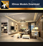 ★Download 3D Max Decoration Models -Living Room V.1