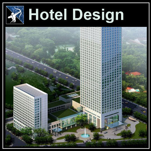 【Architecture CAD Projects】Hotel Design CAD Blocks,Plans,Layout V2