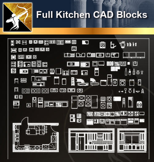 ★Full Kitchen Blocks