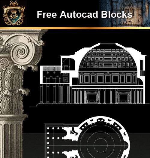 ★Free CAD Drawings-Architecture Drawings V.4 - Architecture Autocad Blocks,CAD Details,CAD Drawings,3D Models,PSD,Vector,Sketchup Download