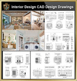 ★【Interior Design CAD Design,Details,Elevation Collection】Residential Building,Living room,Bedroom,Restroom,Decoration@Autocad Blocks,Drawings,CAD Details,Elevation - Architecture Autocad Blocks,CAD Details,CAD Drawings,3D Models,PSD,Vector,Sketchup Download