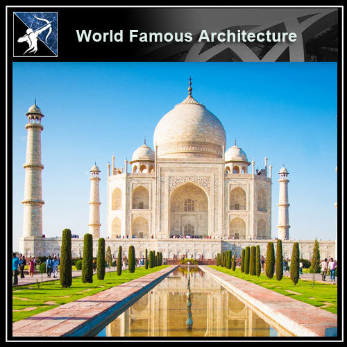 【Famous Architecture Project】Taj mahal 3d CAD Drawing-Architectural 3D CAD model - Architecture Autocad Blocks,CAD Details,CAD Drawings,3D Models,PSD,Vector,Sketchup Download