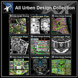 ★【All Urban Design CAD Drawings Collection】(Best Recommanded!!)