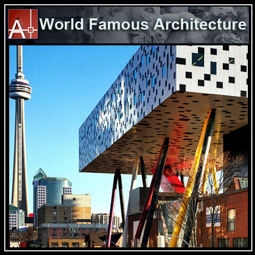 【Famous Architecture Project】Ontario College of Art and Design University-CAD Drawings - Architecture Autocad Blocks,CAD Details,CAD Drawings,3D Models,PSD,Vector,Sketchup Download