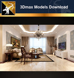 ★Download 3D Max Decoration Models -Living Room V.9