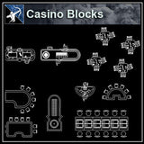 【Architecture CAD Projects】Casino CAD plans ,CAD Blocks - Architecture Autocad Blocks,CAD Details,CAD Drawings,3D Models,PSD,Vector,Sketchup Download