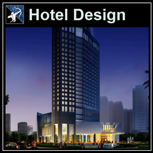 【Architecture CAD Projects】Hotel Design CAD Blocks,Plans,Layout V1