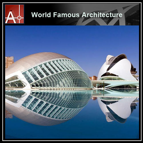 【Famous Architecture Project】Santiago Calatrava-Architectural 3D SKP model - Architecture Autocad Blocks,CAD Details,CAD Drawings,3D Models,PSD,Vector,Sketchup Download