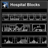 【Architecture CAD Projects】Hospital CAD Blocks and Plans,Elevation - Architecture Autocad Blocks,CAD Details,CAD Drawings,3D Models,PSD,Vector,Sketchup Download