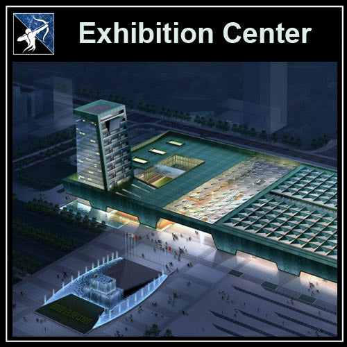 【Architecture CAD Projects】Exhibition Design CAD Blocks,Plans,Layout