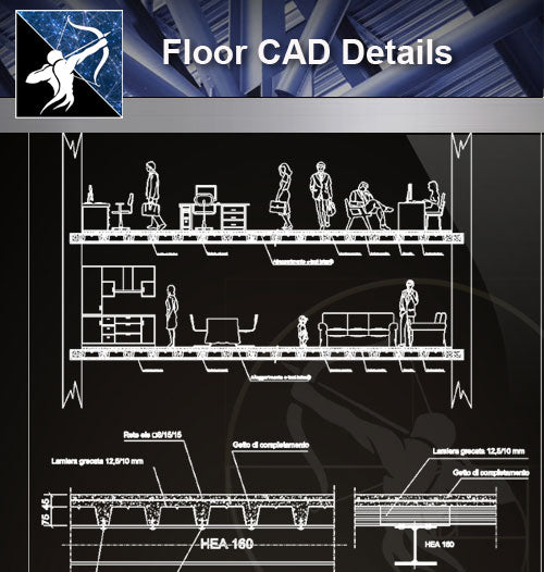 【Floor Details】-Free Floor CAD Details - Architecture Autocad Blocks,CAD Details,CAD Drawings,3D Models,PSD,Vector,Sketchup Download