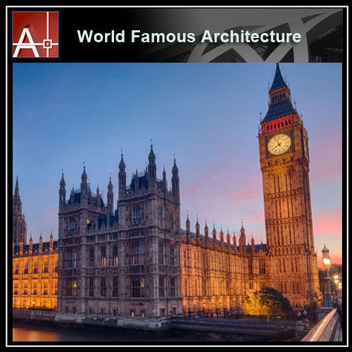 【Famous Architecture Project】Houses_of_parliament -Architectural 3D SKP model - Architecture Autocad Blocks,CAD Details,CAD Drawings,3D Models,PSD,Vector,Sketchup Download