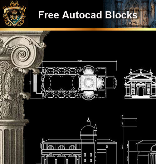 ★Free CAD Drawings-Architecture Drawings V.6 - Architecture Autocad Blocks,CAD Details,CAD Drawings,3D Models,PSD,Vector,Sketchup Download