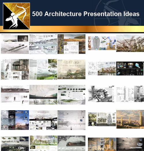 ★TOP 500 国际建筑设计竞图图库下载 ★ 高解析度图库 一次打包下载 - Architecture Autocad Blocks,CAD Details,CAD Drawings,3D Models,PSD,Vector,Sketchup Download