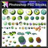 Photoshop PSD Landscape Tree Blocks 2 - Architecture Autocad Blocks,CAD Details,CAD Drawings,3D Models,PSD,Vector,Sketchup Download