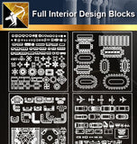 ★Full Interior Design Blocks 1