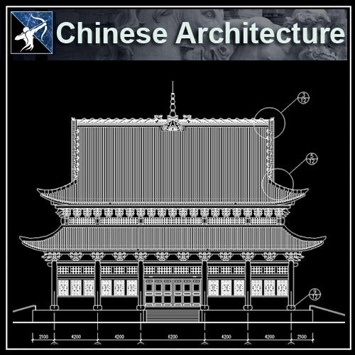 【Architecture CAD Projects】Chinese Architecture Design CAD Blocks,Plans,Layout V2