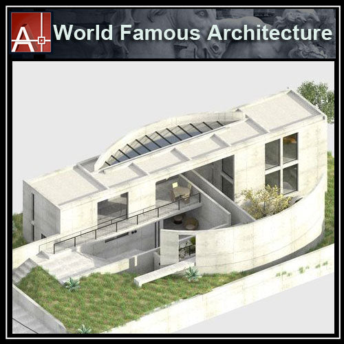 【Famous Architecture Project】TADAO ANDO - Iwasa House-Architectural CAD Drawings - Architecture Autocad Blocks,CAD Details,CAD Drawings,3D Models,PSD,Vector,Sketchup Download