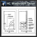 【Architecture Details】HC Washroom Detail - Architecture Autocad Blocks,CAD Details,CAD Drawings,3D Models,PSD,Vector,Sketchup Download