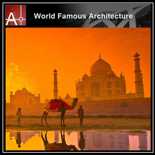 【Famous Architecture Project】Taj Mahal-Architectural 3D SKP model - Architecture Autocad Blocks,CAD Details,CAD Drawings,3D Models,PSD,Vector,Sketchup Download