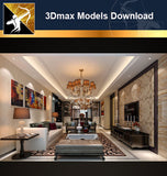 ★Download 3D Max Decoration Models -Living Room V.3 - Architecture Autocad Blocks,CAD Details,CAD Drawings,3D Models,PSD,Vector,Sketchup Download