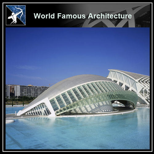 【Famous Architecture Project】Santiago calatrava 3d CAD Drawing-Architectural 3D CAD model - Architecture Autocad Blocks,CAD Details,CAD Drawings,3D Models,PSD,Vector,Sketchup Download
