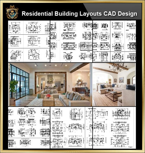 ★【Over 68+ Residential Building Plan,Architecture Layout,Building Plan Design CAD Design,Details Collection】@Autocad Blocks,Drawings,CAD Details,Elevation - Architecture Autocad Blocks,CAD Details,CAD Drawings,3D Models,PSD,Vector,Sketchup Download