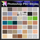 【Photoshop PSD Landscape Blocks】Landscape Paving Blocks 4 - Architecture Autocad Blocks,CAD Details,CAD Drawings,3D Models,PSD,Vector,Sketchup Download
