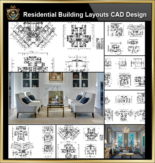 ★【Over 58+ Residential Building Plan,Architecture Layout,Building Plan Design CAD Design,Details Collection】@Autocad Blocks,Drawings,CAD Details,Elevation - Architecture Autocad Blocks,CAD Details,CAD Drawings,3D Models,PSD,Vector,Sketchup Download