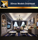 ★Download 3D Max Decoration Models -Living Room V.5 - Architecture Autocad Blocks,CAD Details,CAD Drawings,3D Models,PSD,Vector,Sketchup Download