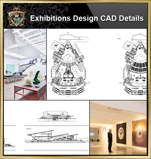 ★【Exhibitions CAD Blocks-Exhibition hall, display cabinet, display stand, exhibition design】@CAD Blocks,Autocad Blocks,Drawings,Details - Architecture Autocad Blocks,CAD Details,CAD Drawings,3D Models,PSD,Vector,Sketchup Download