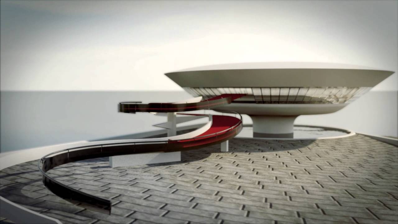 【Famous Architecture Project】Niteroi contemporary art museum-Architectural CAD Drawings