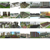★Best 20 Types of Residential Building Landscape Sketchup 3D Models Collection V.3 - Architecture Autocad Blocks,CAD Details,CAD Drawings,3D Models,PSD,Vector,Sketchup Download