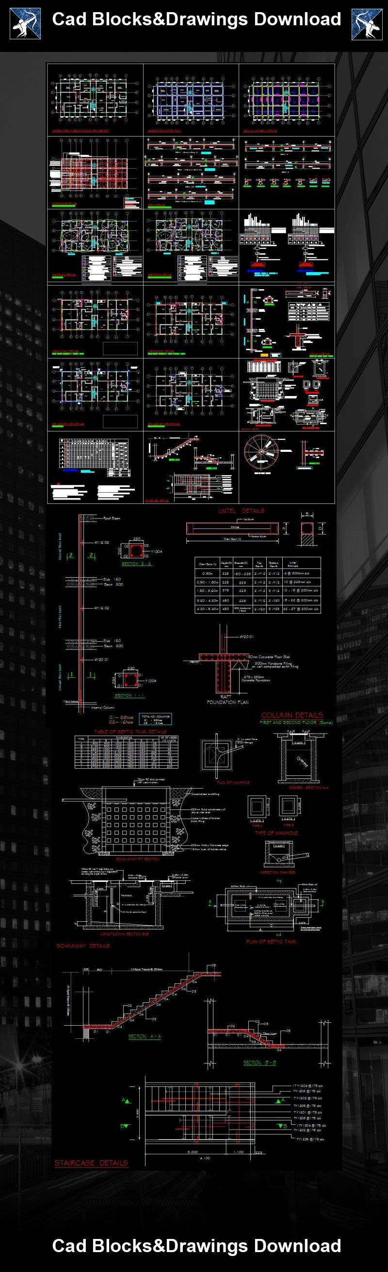 ★【Architecture Details】Structure Drawings
