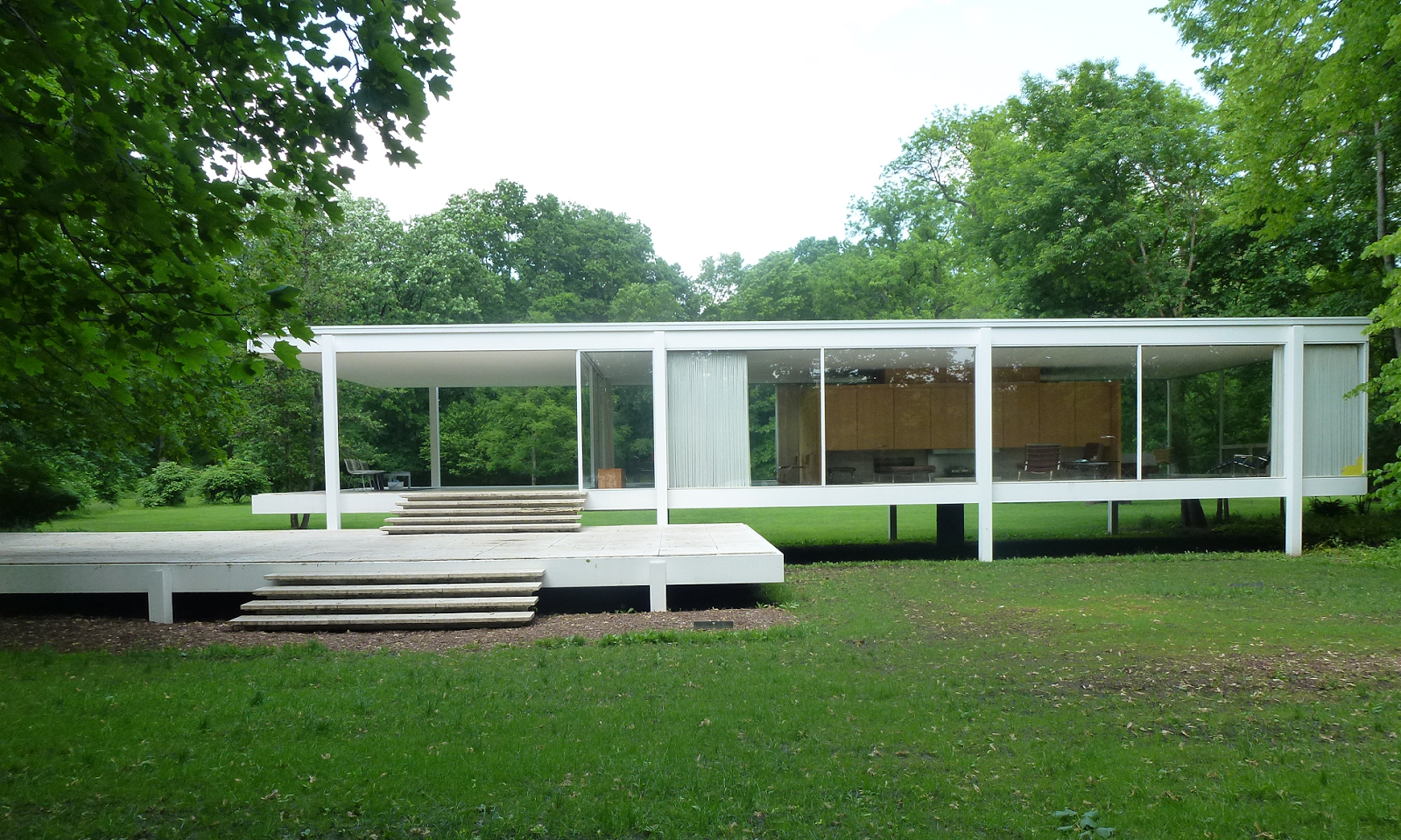 【Famous Architecture Project】Farnsworth House-CAD Drawings