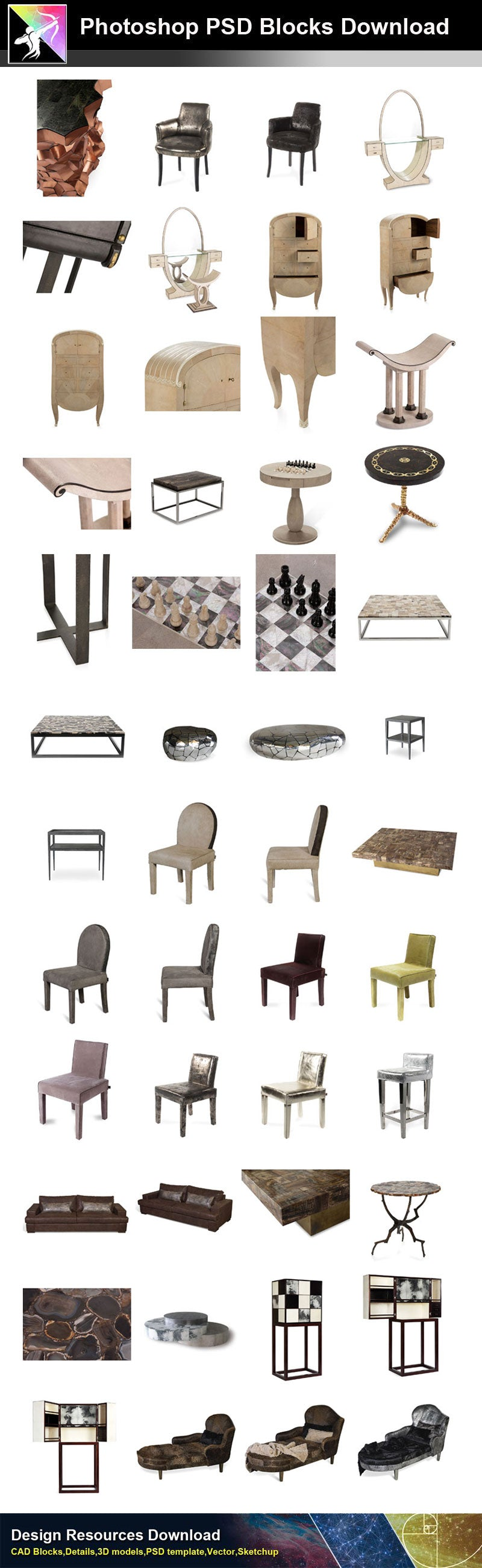 Luxury Furniture PSD Blocks 1