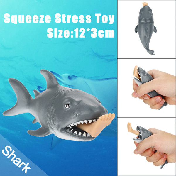 12cm Funny Toy Shark Squeeze Stress Ball Alternative Humorous Light Hearted New - Architecture Autocad Blocks,CAD Details,CAD Drawings,3D Models,PSD,Vector,Sketchup Download