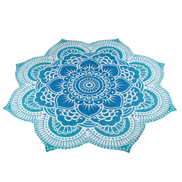 Round Beach Pool Home Shower Towel Blanket Table Cloth Yoga Mat - Architecture Autocad Blocks,CAD Details,CAD Drawings,3D Models,PSD,Vector,Sketchup Download