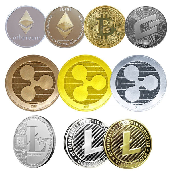 Non-currency Coins Bitcoin Ethereum/Litecoin/Dash/Ripple Coin 5 kinds of Commemorative Coin Drop Shipping - Architecture Autocad Blocks,CAD Details,CAD Drawings,3D Models,PSD,Vector,Sketchup Download