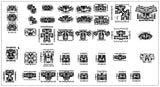 ★【85 Residential Layout Plans CAD Drawings】
