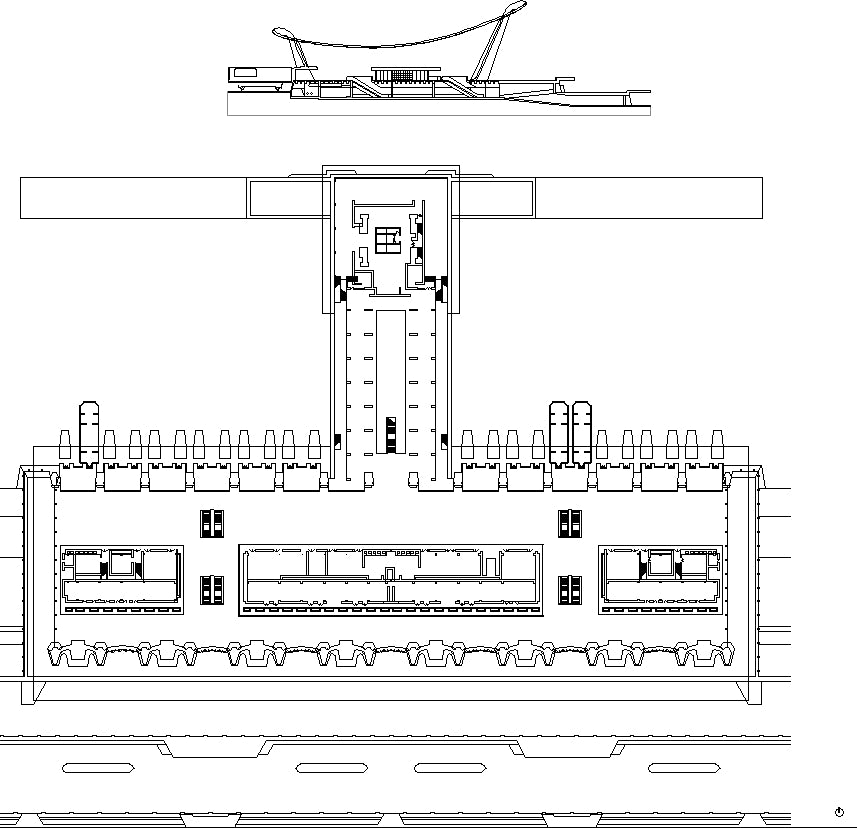 【Famous Architecture Project】Washington Dulles International Airport-CAD Drawings